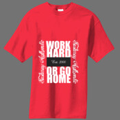 MENS WORK HARD EA T-shirt