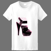 Womens high standaeds T-shirt